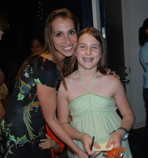 Rose Caiola and Leah Lane at World Premiere of FRECKLEFACE STRAWBERRY, THE MUSICAL